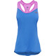 The North Face W's Runagade Mesh Tank Amparo Blue/Sweet Violet
